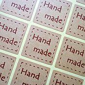 Материалы для творчества ручной работы. Ярмарка Мастеров - ручная работа Наклейка, стикер  (20 штук). Handmade.
