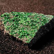 Материалы для творчества handmade. Livemaster - original item Uvarovite(Green Garnet). Handmade.