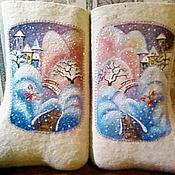 """Обувь ручной работы. Ярмарка Мастеров - ручная работа Валенки """"Зимнее чудо"""". Handmade."""