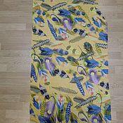 Ткани ручной работы. Ярмарка Мастеров - ручная работа 10811 лоскут павловопосадского палантина из вискозы. Handmade.