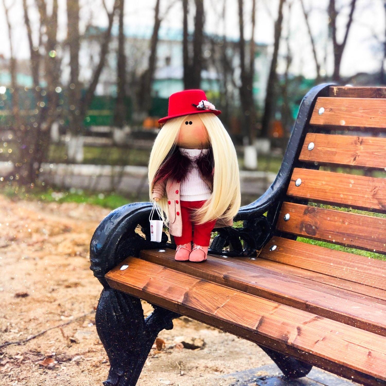 Интерьерная кукла, Тыквоголовка, Александров,  Фото №1