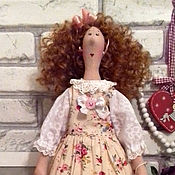 """Куклы и игрушки ручной работы. Ярмарка Мастеров - ручная работа Кукла Тильда стиль """"шебби-шик"""". Handmade."""