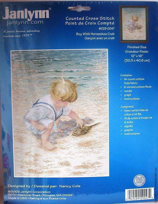 Набор `Мальчик на берегу` Артикул: 029-0047 Размер: 30,5х40,6см Цена: 790 р.
