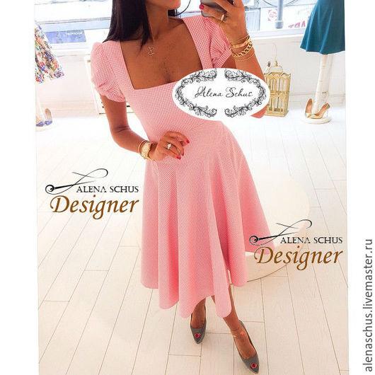 Платья ручной работы. Ярмарка Мастеров - ручная работа. Купить Платье летнее. Handmade. Кремовый, платье, платье летнее