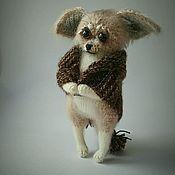 """Мягкие игрушки ручной работы. Ярмарка Мастеров - ручная работа """"Замёрз"""". Handmade."""