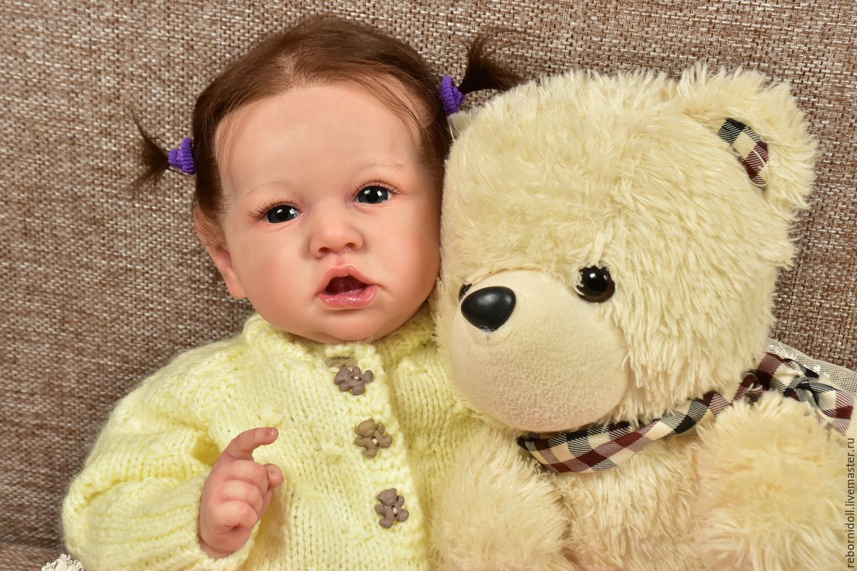 Кукла реборн малышка Саскиа, Куклы Reborn, Севастополь, Фото №1