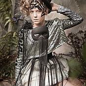 Одежда ручной работы. Ярмарка Мастеров - ручная работа Дизайнерский комплект для девочки. Handmade.