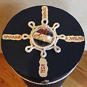 Сувениры и подарки ручной работы. Ярмарка Мастеров - ручная работа Подарочная коробка Морской Ребус. Handmade.