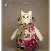 Куклы и игрушки ручной работы. Ярмарка Мастеров - ручная работа Кошка Мила. Handmade.