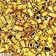 Для украшений ручной работы. Ярмарка Мастеров - ручная работа. Купить HTL-191 Miyuki Half TILA 24Kt Gold Plated. Handmade.