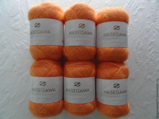 Вязание ручной работы. Ярмарка Мастеров - ручная работа. Купить Пряжа Hasegawa Seika №  27 CARROT. Handmade.
