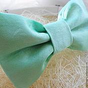 Аксессуары handmade. Livemaster - original item Tie Mint. Handmade.