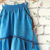 Одежда handmade. Livemaster - original item A set of skirts to the floor