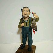Портретная кукла ручной работы. Ярмарка Мастеров - ручная работа Портретные статуэтки. Handmade.