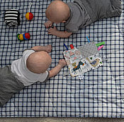 Для дома и интерьера ручной работы. Ярмарка Мастеров - ручная работа Коврик одеяло игровой. Handmade.