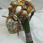 Свадебный салон ручной работы. Ярмарка Мастеров - ручная работа Букет невесты Серебро и янтарь. Handmade.
