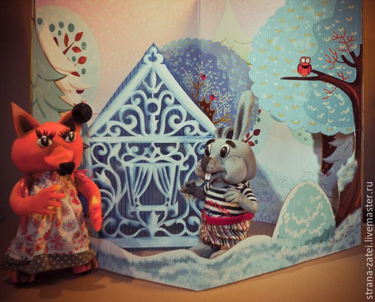 Декорации к кукольному театру своими рук 24