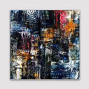 Картины и панно handmade. Livemaster - original item Black abstraction, interior painting, oil abstraction. Handmade.