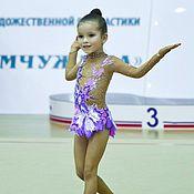 Работы для детей, ручной работы. Ярмарка Мастеров - ручная работа Купальник для гимнастики. Handmade.