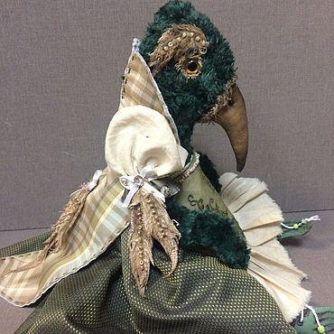 Куклы и игрушки ручной работы. Ярмарка Мастеров - ручная работа Сказочная птица «Го-го». Handmade.