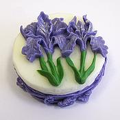 Косметика ручной работы handmade. Livemaster - original item Soap Irises. Handmade.