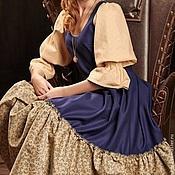 """Платья ручной работы. Ярмарка Мастеров - ручная работа Платье в бохо-стиле """"Delft porcelain"""". Handmade."""