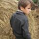 Одежда для мальчиков, ручной работы. Куртка-ковбойка. 'Нежный возраст'. Ярмарка Мастеров. Ретро стиль, на пуговицах, удобная одежда