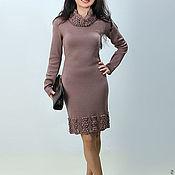 Одежда ручной работы. Ярмарка Мастеров - ручная работа Платье вязаное 4470. Handmade.