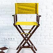 Для дома и интерьера ручной работы. Ярмарка Мастеров - ручная работа Режиссерское кресло с цветной обивкой. Handmade.