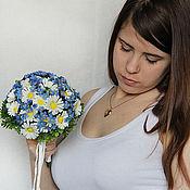 """Свадебные букеты ручной работы. Ярмарка Мастеров - ручная работа Букет невесты из полимерной глины """"Я и ты"""". Handmade."""