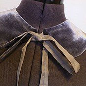 Аксессуары handmade. Livemaster - original item Optional velvet collar Softly. Handmade.