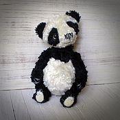 Куклы и игрушки ручной работы. Ярмарка Мастеров - ручная работа мишка тедди панда Бо. Handmade.