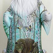 Русский стиль ручной работы. Ярмарка Мастеров - ручная работа Дед Мороз. Медведи и лоси. Handmade.