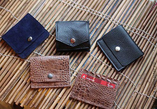 Карманные кошельки для купюр и холдер-визитница для пластиковых карт и визиток