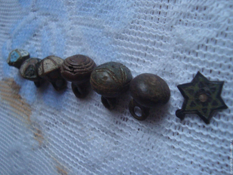 Старинные пуговки гирьки 9 фотография
