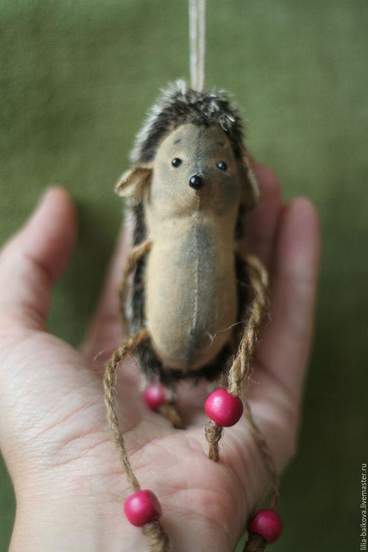 Ароматизированные куклы ручной работы. Ярмарка Мастеров - ручная работа. Купить ёжик. Handmade. Бежевый, ароматизированная игрушка, ежик в подарок