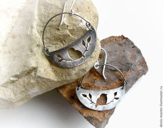 Ярмарка Мастеров, Kiwi Art Studio,  украшения из серебра, серебряные украшения, украшения из серебра авторской работы, украшения из серебра ручной работы,
