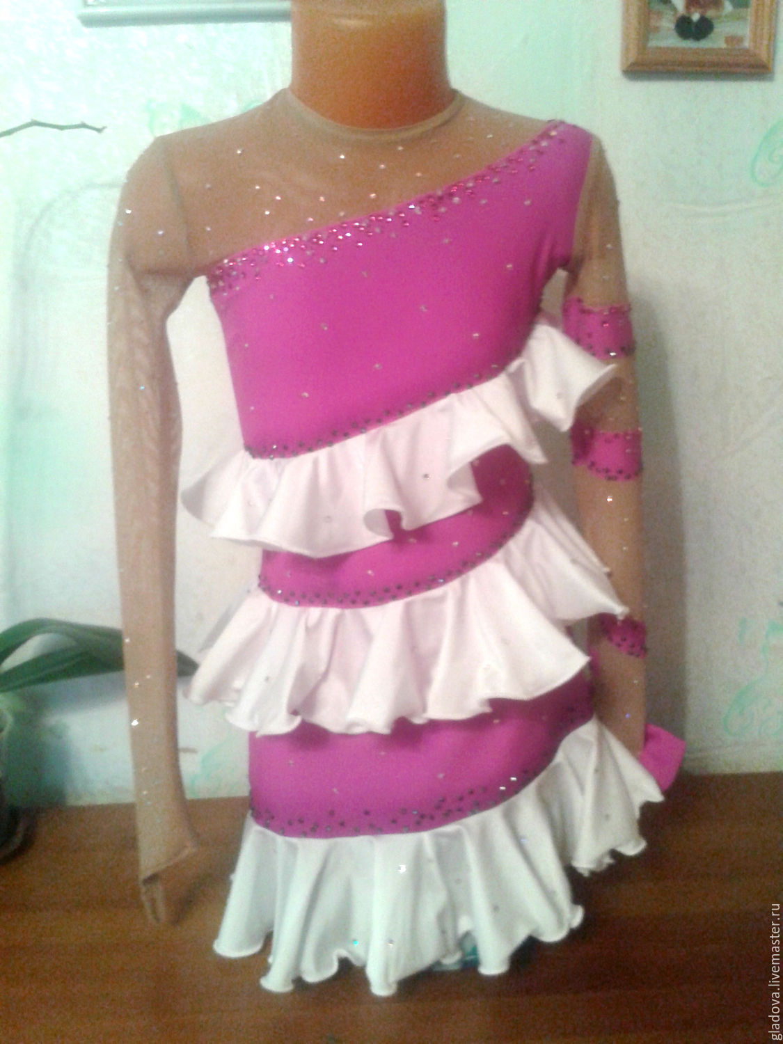 Dress for figure skating, Carnival costumes for children, Tolyatti,  Фото №1