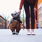 Куклы и игрушки ручной работы. Ярмарка Мастеров - ручная работа Большой мишка Веня. Handmade.