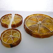 handmade. Livemaster - original item Amber lemon St-165. Handmade.