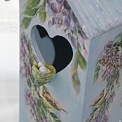 """Для дома и интерьера ручной работы. Ярмарка Мастеров - ручная работа Чайный домик """"Пташки"""". Handmade."""