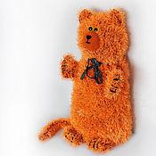 Куклы и игрушки ручной работы. Ярмарка Мастеров - ручная работа Кот Апельсин. Handmade.