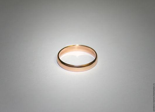 Кольца ручной работы. Ярмарка Мастеров - ручная работа. Купить Обручальное кольцо, Классика (золото 585). Handmade. Золотой, невеста