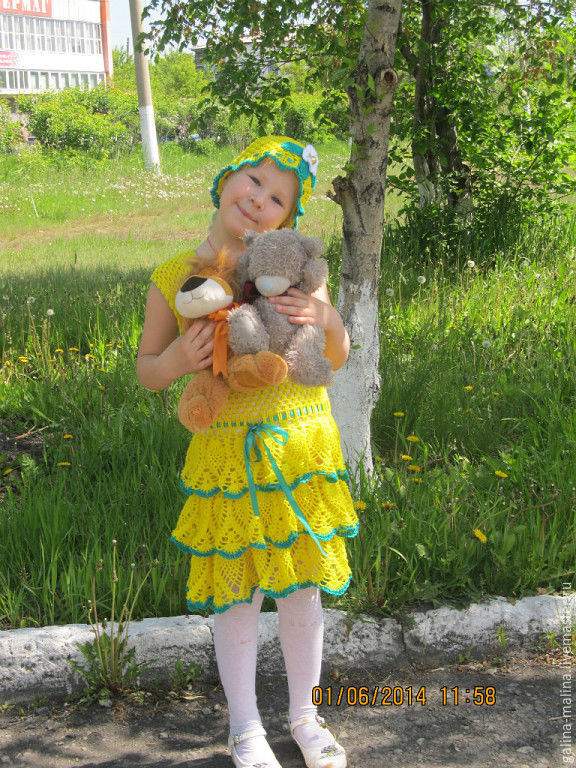 Dress 'a Sunny morning ', Dresses, Penza,  Фото №1
