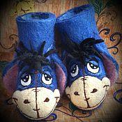 """Обувь ручной работы. Ярмарка Мастеров - ручная работа Детские валенки """" Ослик Иа"""". Handmade."""