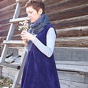 """Одежда ручной работы. Ярмарка Мастеров - ручная работа Бохо-образ""""Утро туманное""""(юбка,сарафан). Handmade."""
