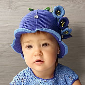Шляпы ручной работы. Ярмарка Мастеров - ручная работа Шапочка «Колокольчик». Handmade.