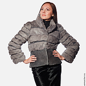 Одежда handmade. Livemaster - original item Fur Coat Platinum. Handmade.