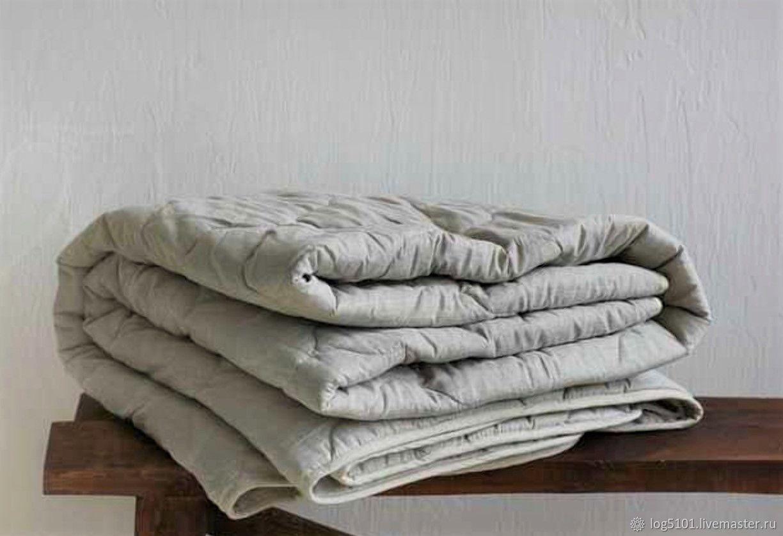 """Льняное одеяло """"Здоровый сон"""" - Натуральное одеяло изо льна, Одеяла, Москва,  Фото №1"""