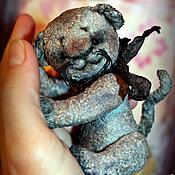 Куклы и игрушки ручной работы. Ярмарка Мастеров - ручная работа Котёнок на ладошке.... Handmade.